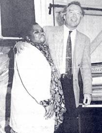 Gospelkonzert am 1. Oktober 1993 mit Audrey Motaung und Gottfried Böttger