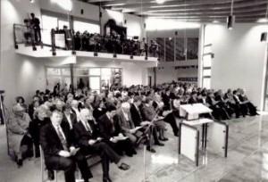 Einweihungsgottesdienst am 4. November 1990