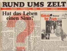 """""""Rund ums Zelt"""" erschien als Beilage der Uetersener Nachrichten"""